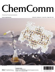 Cover of ChemComm