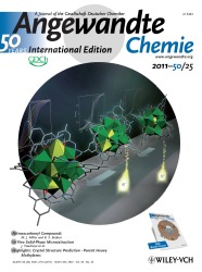 Cover of Angewandte Chemie