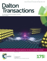 Cover of Dalton Transactions
