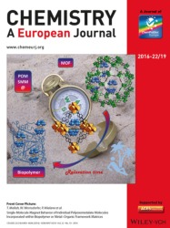Cover of Chemistry A European Journal